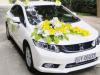 10 mẫu trang trí xe hoa cưới màu trắng sang trọng, lãng mạn