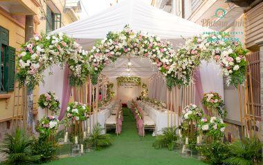 14 mẫu cổng hoa đẹp mắt và tinh tế mà Phương Anh đã thực hiện
