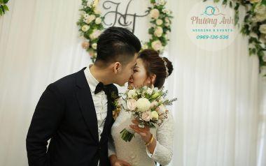 Tổ chức lễ cưới trọn gói cho cô dâu Phương Huệ và chú rể Chí Tâm 2018