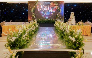 Trang trí Lễ cưới khách sạn cặp đôi Thúy Anh, Ngọc Minh 6.11.2018