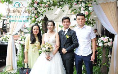 Lễ thành hôn của chú rể Duy Anh - cô dâu Thu Trang 2017