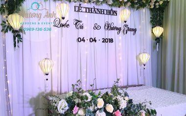 Đám cưới đẹp như mơ của cặp đôi Quốc Tú - Hương Giang